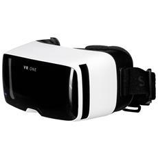 """Visore Realtà Virtuale VR One compatibile con display da 4.7"""" a 5.2"""" fornito senza alloggiamento per smartphone"""