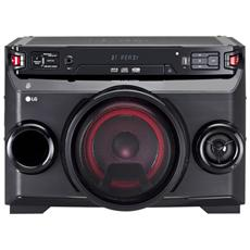 Sistema Mini Hi-Fi OM4560 Bluetooth Colore Nero