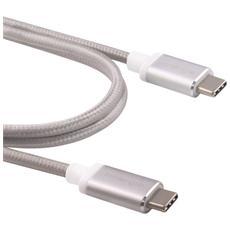 MagiCable USB-C to USB-C grigio