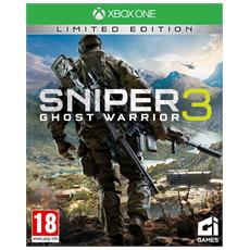 XONE - Sniper Ghost Warrior 3 Limited Edition