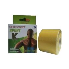 Ceroxmed Sport Kinetic-tape Giallo 5x5