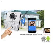 Videocitofono Wifi Wireless Con Telecamera Hd Chiamata Remota Smartphone Table