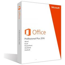 Office 2016 Professional Plus Full Retail 1 Pc Esd Licenza Elettronica