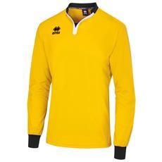 Maglietta Da Arbitro A Maniche Lunghe Unisex (s) (giallo / nero)