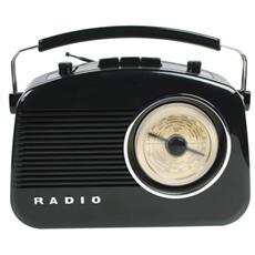 König HAV-TR710BL, C, Portatile, AM, FM, AC, Batteria, AC, UM-2