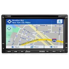 "Sintolettore con GPS SNV695N Lettore CD / DVD Display 6,95"" Bluetooth AUX-In"