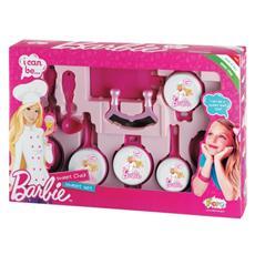Set Tegami Tampografati Di Barbie Con Mezzaluna Sr2713