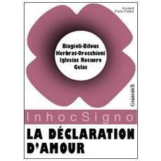 D�claration d'amour (La)