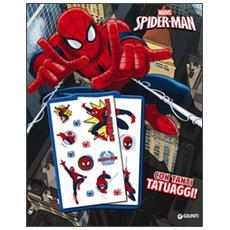 Il libro con tatuaggi. Spider-Man. Super album