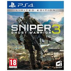 PS4 - Sniper Ghost Warrior 3 Limited Edition