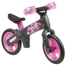 Bici B-BIP+Caschetto Grigio-Rosa 017A