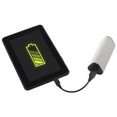 PB-1725, USB, Bianco, Telefono cellulare, Tablet, Micro-USB, Apple 30-pin