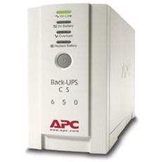 Gruppo di Continuità Back-UPS CS 400 W / 650 VA 4 Prese IEC (C13) / RS-232 / RJ-45 / USB