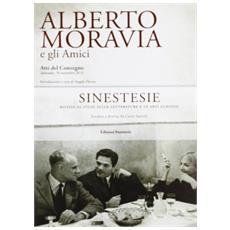 Alberto Moravia e gli amici