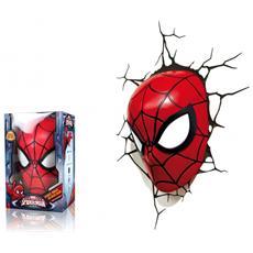 Lampada da Muro 3D Spiderman