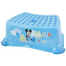 Sgabello Con Piedi Mickey Lulabi Azzurro Mondo Baby