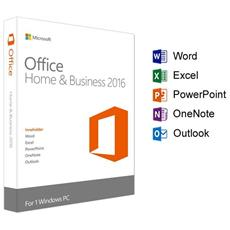 Office 2016 Home And Business Full Retail 1 Pc Esd Licenza Elettronica