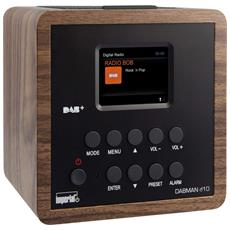 Radio Digitale DABMAN D10 DAB+ / FM Colore Legno