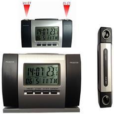 Sveglia 503 Orologio A Proiezione Temperatura Schermo Lcd Data Calendario Proiettore Laser Ora