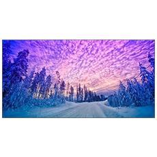 Quadro Su Tela In Stampa Di Alta Qualità Montata Su Telaio In Legno Canvas Deep 77x143 Albakiara