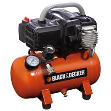 Compressore Serbatoio 6 Lt. - Bd 195/6 Nk - Black & Decker