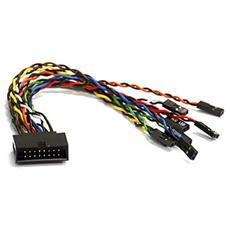 Front Panel Switch Cable 16-pin cavo di interfaccia e adattatore