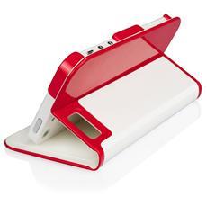 Cover Rotabile con standcover per iPhone 5 (6th Gen) - Rossa