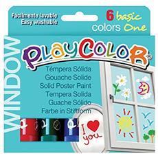 Cf6 Tempera Solida Playc Window Ass