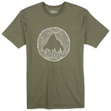 T-shirt Uomo Johnson M Verde