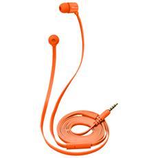 Duga Cuffie in-ear per tablet e smartphone - neon orange