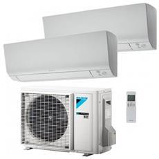 Condizionatore Fisso Dualsplit 2MXM50M / FTXM25+35M Perfera FTXM Potenza 9000+12000 BTU / H Classe A+++ / A++ Inverter e Wi-Fi Predisposto