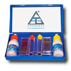 Kit test in flacone per PH e Cloro piscina