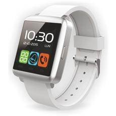 "Smartwatch TechWatchONE mini Display 1.44"" Bluetooth per iOS e Android colore Bianco"