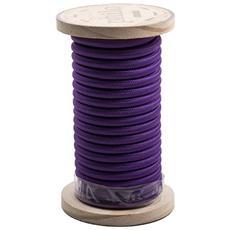 Filo elettrico in bobina PHILO ricoperto in cotone Lunghezza 5 mt Colore Violetto