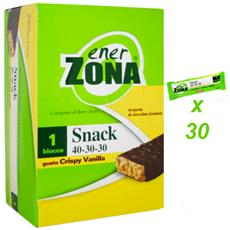 Bar Snack Crispy Vanilla Box Da 30