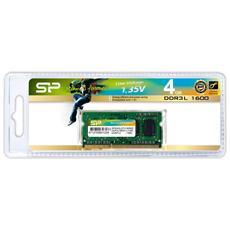 DDR3L 204-PIN SO-DIMM 4GB, DDR3L, Computer portatile, 204-pin SO-DIMM, 512M x 8, 1 x 4 GB, Verde