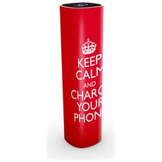 KEEP CALM, USB, Rosso, Telefono cellulare, Smartphone, Tablet