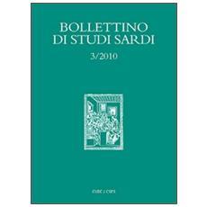 Bollettino di studi sardi (2010) . Vol. 3