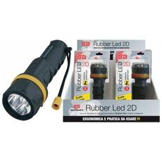Torcia Rubber 3 Led Antiurto