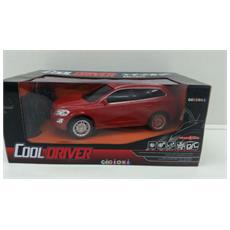 Cooldriver - Macchina Radiotelecomandata - Modello Suv - Rossa - Scala 1:24