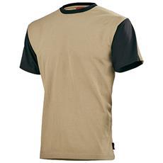 T-shirt Da Uomo Lafont - Beige-nero - 2xl