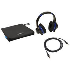 AH-D321, Stereofonico, Padiglione auricolare, Nero, Blu, Cablato, Circumaurale, 6 - 67000 Hz