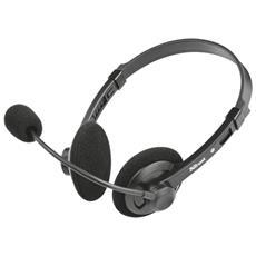 Lima leggere cuffie stereo con microfono flessibile e regolabile