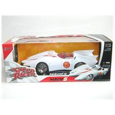 91879 Speed Racer Mach 5 White 1:18 Modellino