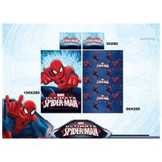 Completo Lenzuola Lettino Singolo Spiderman Marvel 293-118