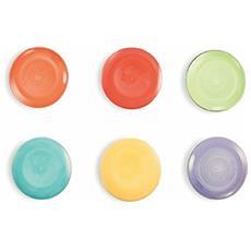 Baita Sottomacchinetta, Ceramica, Arancio / rosso / verde / turchese / giallo / viola