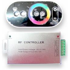 Controller Per Strisce Led Rgb Multicolore Con Telecomando Touch Vt-2405 3312