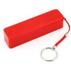 Colour Line Red 2.600, Polimeri di litio (LiPo) , USB, Rosso, Micro-USB, Plastica, Universale