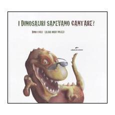 I dinosauri sapevano cantare? Con adesivi