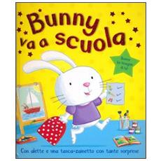 Bunny va a scuola. Con gadget
